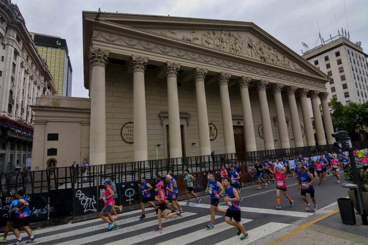 La San Silvestre Buenos Aires tuvo a 10 mil corredores